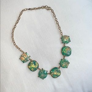 Opal look necklace